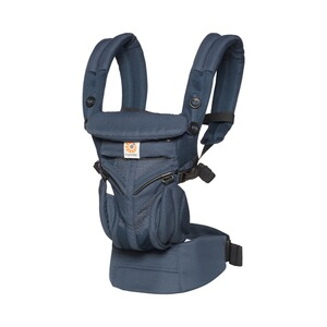 ERGOBABY® OMNI 360 Cool Air Mesh Babytrage, 4 Tragepositionen  Midnight Blue