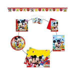 DISNEY MICKEY MOUSE & FRIENDS 50 tlg. Partyset Mickey Mouse