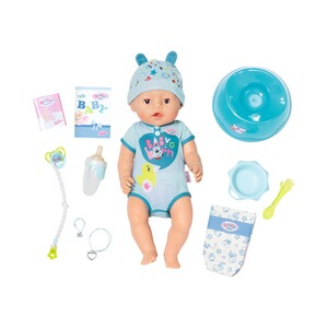 Zapf Creation BABY BORN Puppe Soft Touch Boy 43cm