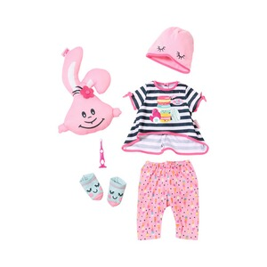 Zapf Creation BABY BORN Puppen Outfit Deluxe Übernachtungsparty