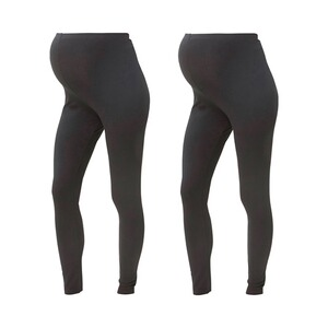 MAMALICIOUS®2er-Pack Umstands-Leggings Organic Cotton 1