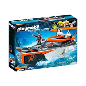 Playmobil® TOP AGENTS 70002 Spy Team Turboship