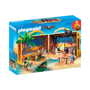 Playmobil® PIRATES 70150 Mitnehm-Pirateninsel