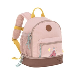 Lässig  Kindergartenrucksack Mini Backpack Adventure  rosa Tipi
