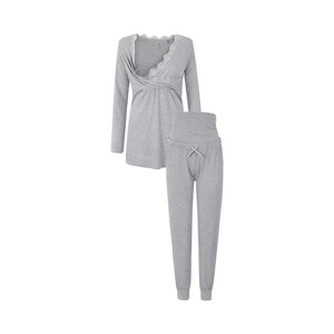 Bellybutton  Umstands- und Still-Pyjama  baru gray melange