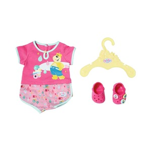 Zapf Creation BABY BORN Puppen Outfit BABY born Bath Pyjamas & Clogs 43cm