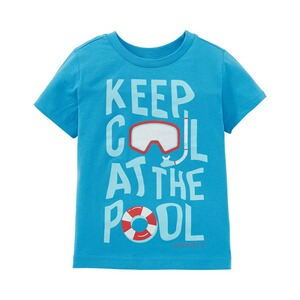 ESPRIT  T-Shirt Keep cool  blau