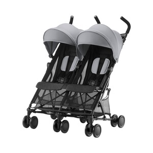 Britax Römer  Holiday Double Zwillingsbuggy  Steel Grey