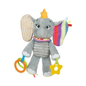 Clementoni DISNEY BABY Stoffspielzeug Activity Elefant Dumbo