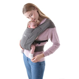 Ergobaby®  Babytrage Embrace, 2 Tragepositionen  Heather Grey