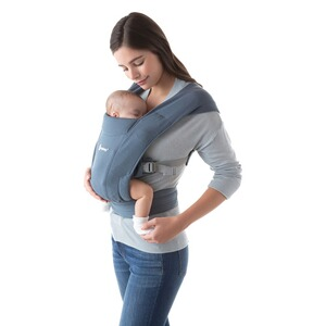 Ergobaby®  Babytrage Embrace, 2 Tragepositionen  Oxford Blue