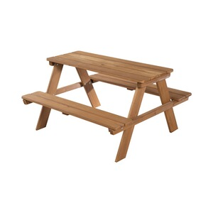 roba  Kindersitzgruppe Picknick for 4 Outdoor Deluxe  teakholzfarben