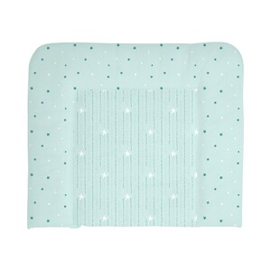 BORNINO HOME  Wickelauflage 85x75 cm  Stars & Dots mint
