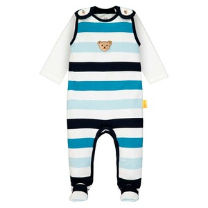 56-74 2019 NEU! STEIFF® Baby Jungen Strampler mit Shirt Gr