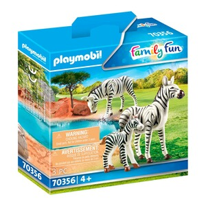 Playmobil® FAMILY FUN 70356 2 Zebras mit Baby