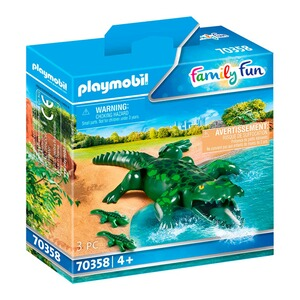 Playmobil® FAMILY FUN 70358 Alligator mit Babys