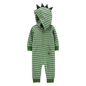 CARTER´S  Sweatoverall mit Kapuze Ringel Dino