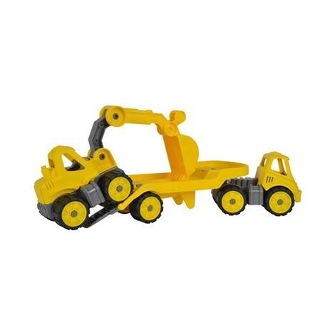 BIG Spielzeug Baumaschine BIG Power Worker Mini Transporter