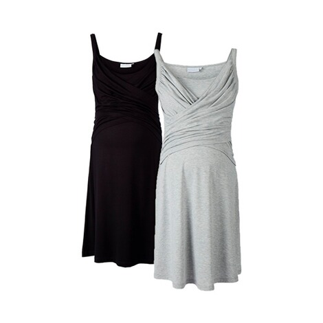 2heartsWE LOVE BASICS2er-Pack Umstands- und Still-Kleid 1
