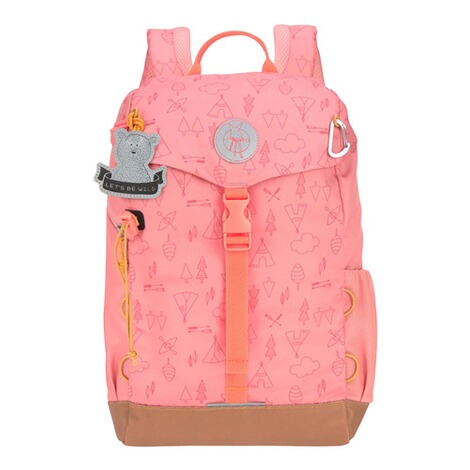 LässigKindergartenrucksack Outdoor Mini Backpack Adventure  rosa 1