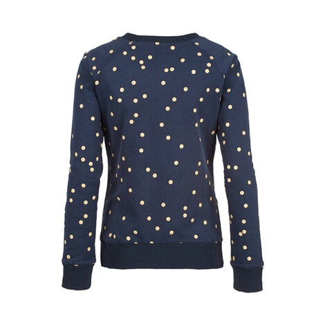 2heartsWE LOVE BASICSUmstands-Pullover Golden Dots 3