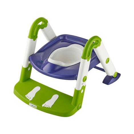 KidsKitToiletten-Trainer Kids Kit  3-in-1  per blue/weiß/lime 2