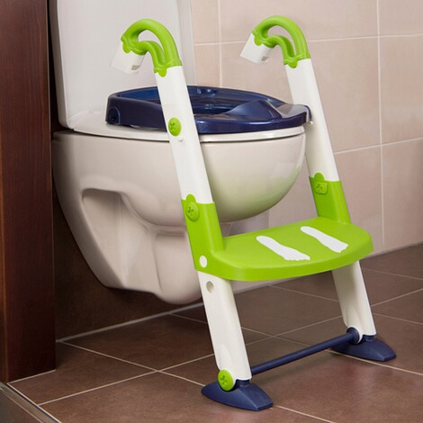 KidsKitToiletten-Trainer Kids Kit  3-in-1  per blue/weiß/lime 4