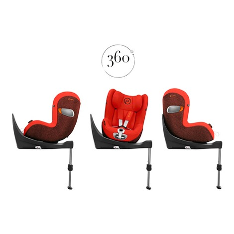 CybexPLATINUMSirona Zi i-size Plus Kindersitz  deep black 3