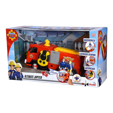 Feuerwehrmann Sam Mega Deluxe Jupiter mit 2 Figuren | Smyths
