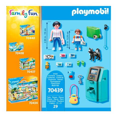 Playmobil NEU /& OVP 70439 Urlauber mit Geldautomat