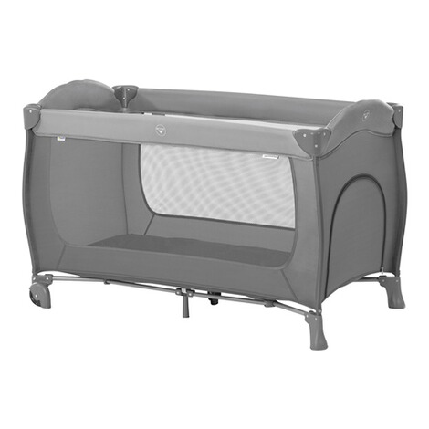 HauckReisebett Sleep N Play Go Plus  grey 1