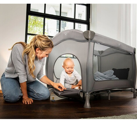 HauckReisebett Sleep N Play Go Plus  grey 10