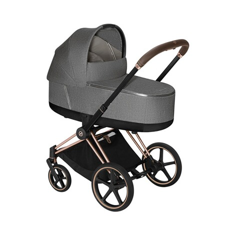 CybexPLATINUMTragewanne Plus Priam Lux  manhattan grey 2