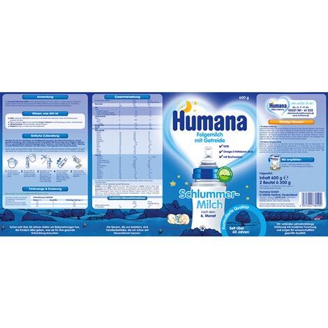 Humana Schlummermilch