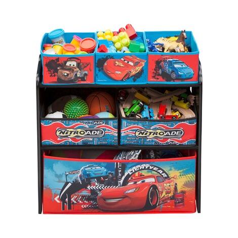 Aufbewahrungsregal Mit Boxen : delta children disney cars aufbewahrungsregal mit 6 boxen ~ Watch28wear.com Haus und Dekorationen