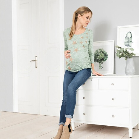2hearts  Umstands-Jeans Jeggings 10