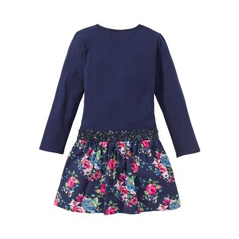 Eisend Kleid langarm Jersey Blumen online kaufen | baby-walz