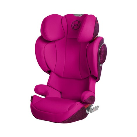 Cybex PLATINUM Solution Z-Fix Kindersitz  Passion Pink 1