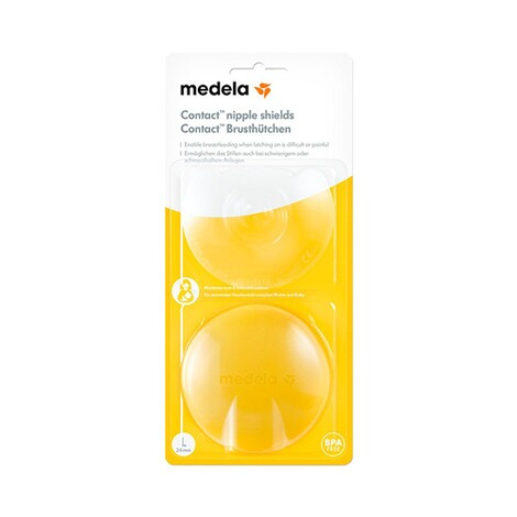 Medela2er-Pack Stillhütchen Contact 13