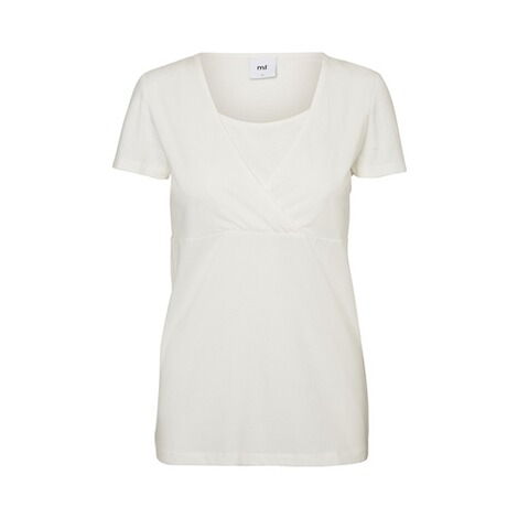 MAMALICIOUS®  2er-Pack Umstands- und Still-T-Shirt Lea Organic Cotton 2