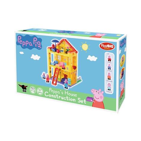 Baustein-Set Peppa Pig Peppas Haus NEU bunt