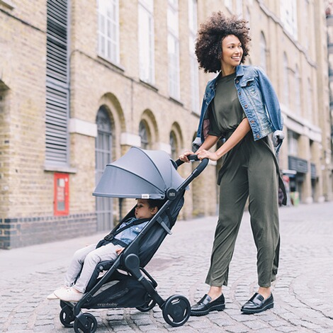 Ergobaby®Metro Compact City Buggy  Grey 5