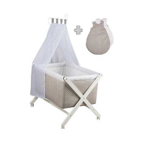 roba stubenwagen klappbar mit nestchen himmel. Black Bedroom Furniture Sets. Home Design Ideas