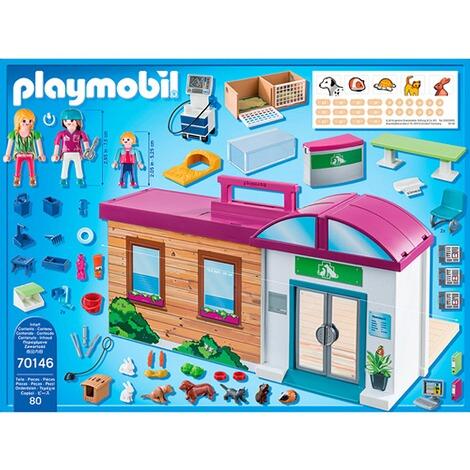 Playmobil® CITY LIFE 70146 Mitnehm-Tierklinik online ...