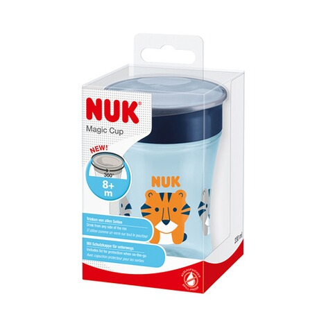 NUK  Trinklernbecher Magic Cup 230 ml  blau 5