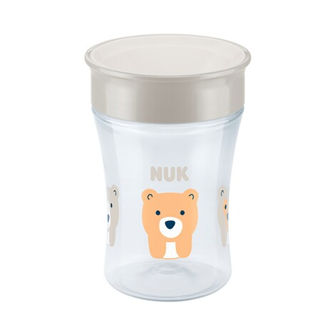 NUK  Trinklernbecher Magic Cup 230 ml  weiß 1