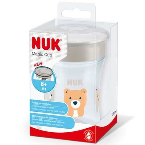 NUK  Trinklernbecher Magic Cup 230 ml  weiß 5