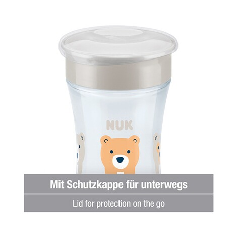 NUK  Trinklernbecher Magic Cup 230 ml  weiß 4
