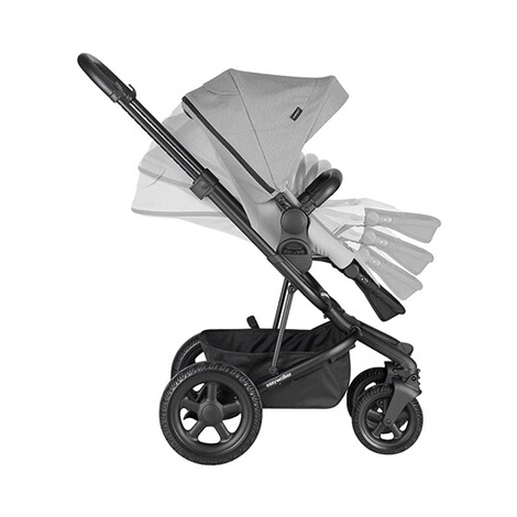 EasywalkerHarvey² All Terrain Kinderwagen  stone grey 7