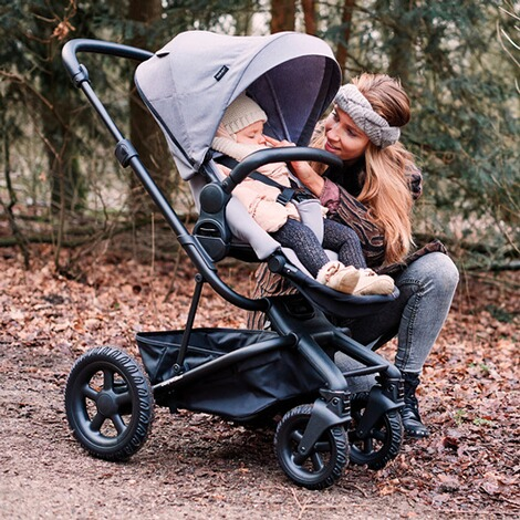 EasywalkerHarvey² All Terrain Kinderwagen  stone grey 13